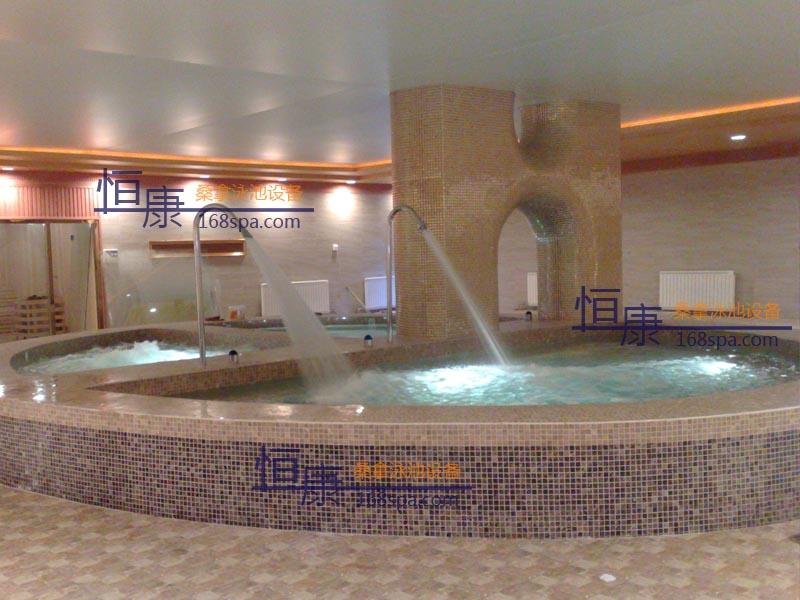 天津永嘉铭泰温泉酒店水疗池
