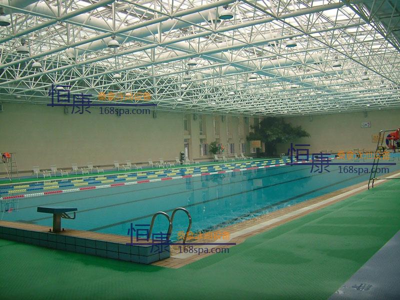 北京某宾馆游泳池